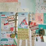 Kit Mini Album Hiver/Noël et son tutoriel