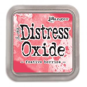 Encre Distress Oxide Festive Berries