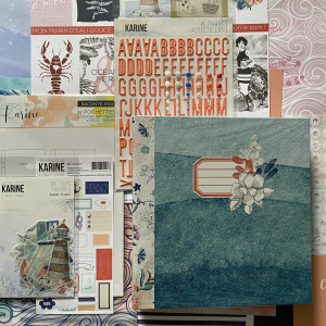 Kit Mini Album été La Belle Aventure et son tutoriel