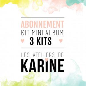 Abonnement 3 kits