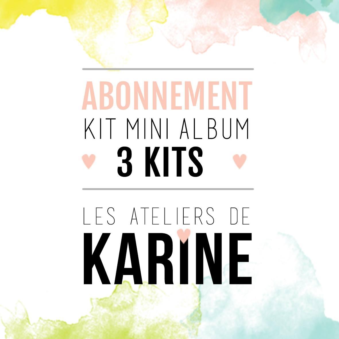 Enfin des abonnements les ateliers de karine abonnement 3 kits fandeluxe Image collections