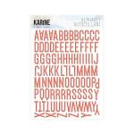 A contre Courant Autocollants Alphabet
