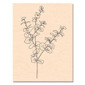 Mademoiselle Tendresse Tampons bois Eucalyptus