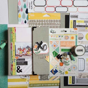 Kit Mini Album Family Time, sa page et tutoriels
