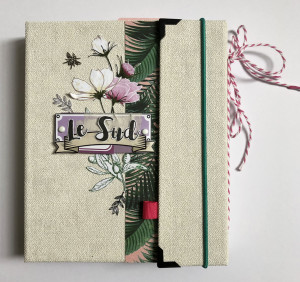 Tutoriel Mini Album Lavande «Le Sud»