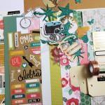Kit Les pages de l'été 2017 et son tutoriel