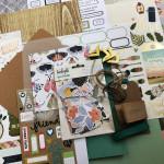 Kit Mini Album Au grand air et son tutoriel