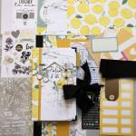 Kit Mini Album Parfum d'été et son tutoriel