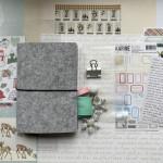 Kit Mini Album Hiver Feutrine et son tutoriel