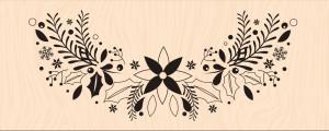 Mint, Choco & Gourmandises-Tamon bois Parenthèse fleurie