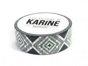 Nomade-Masking Tape Black & White