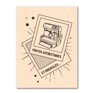 Nomade-Tampon bois Instant Pola
