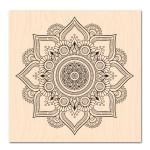 Nomade-Tampon bois Fleur de Lotus