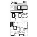 Carte Blanche Autocollants 30 étiquettes