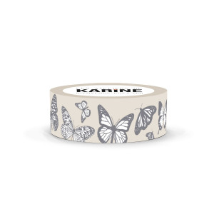 Bienvenue chez moi Masking Tape Papillons