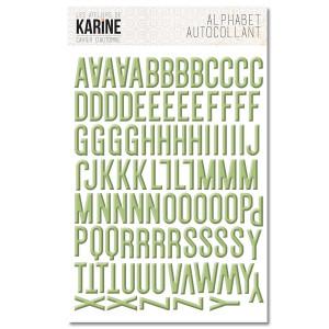 Cahier d'Automne Autocollants Alphabet