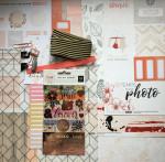 Kit Mini Album Esprit Bohème et son tutoriel