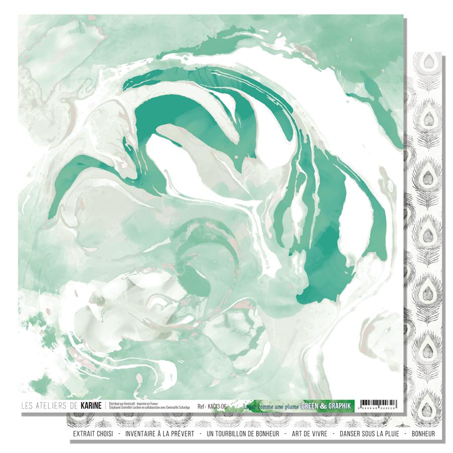 Green&Graphik - léger comme une plume - web