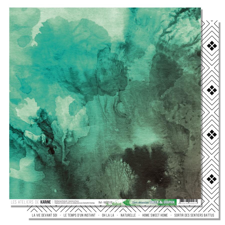 Green&Graphik - papier vert obsession - web