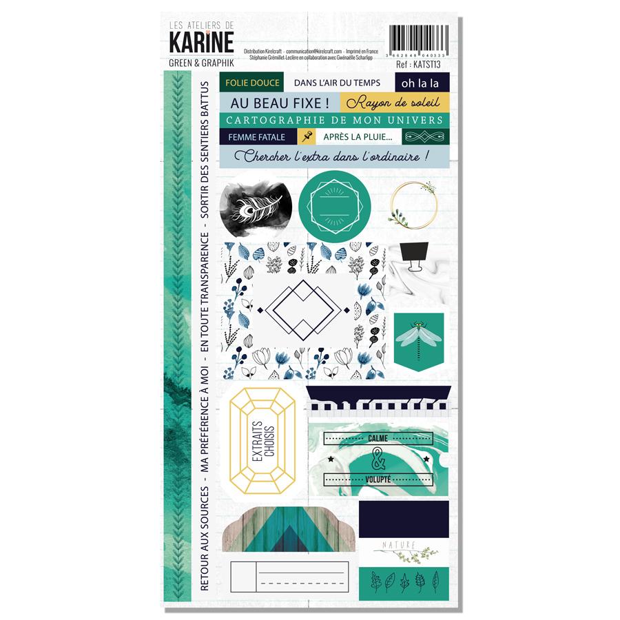 Green&Graphik - stickers - web