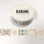 Intemporelle Masking Tape Azulejo