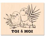 RDV au Soleil-Tampon bois Toi & Moi