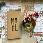 Kit Journal de NOEL (Woodland) 2019 et son tutoriel
