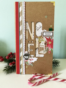 Tutoriel Mini Album Woodland NOEL 19