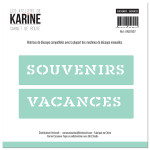 Carnet de Route Dies Souvenirs/Vacances
