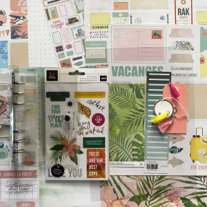 Kit Mini Album Carnet de Souvenirs et son tutoriel