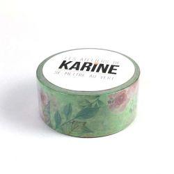 Se mettre au vert-Masking tape Floral