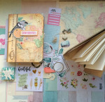 Kit Mini Album Eté Confidentiel et son tutoriel