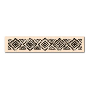 Eté Indien-Tampon bois Frise ethnique