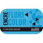 Encre Floricolor couleur Céleste