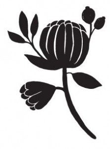 Tampon bois Flower Pod