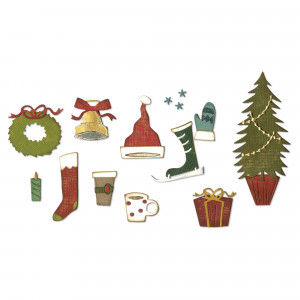 Sizzix Matrices de découpe Festive Things
