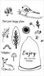 Tampon Clear Flora&Faune Happy Place