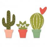 Sizzix Matrices de découpe Cactus