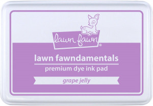 Encre Lawn Fawn Grappe Jelly