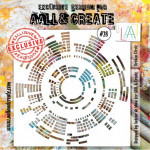 Pochoir Aall & Create Broken circle