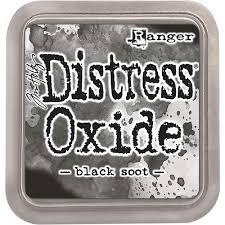 Encre Distress Oxide Black Soot