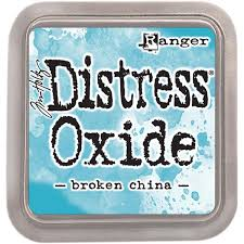 Encre Distress Oxide Broken China