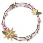 Sizzix Matrices de découpe couronne et fleurs