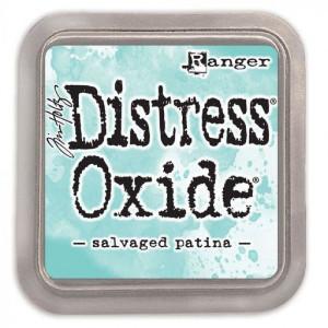 Encre Distress Oxide Salvaged Patina