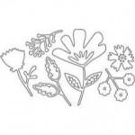 Matrices de découpe Flower Blossom