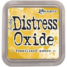 Encre Distress Oxide Fossilized Amber