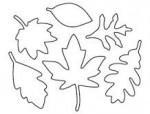 Matrices de découpe Feuilles d'automne