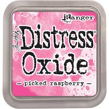 Encre Distress Oxide Picked Raspberry