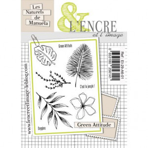 Tampon clear L'encre&L'image Green Attitude