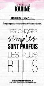 Clear Les choses simples...